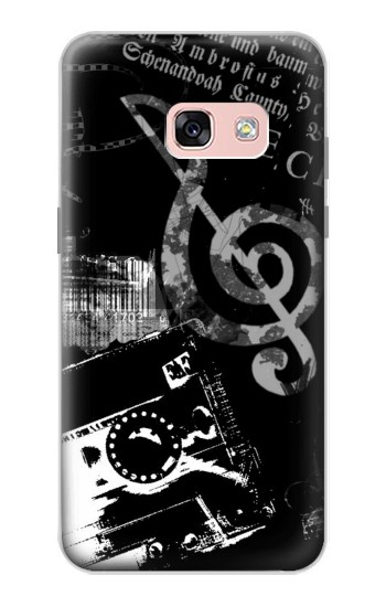 Printed Music Cassette Note Samsung Galaxy A3 (2017) Case