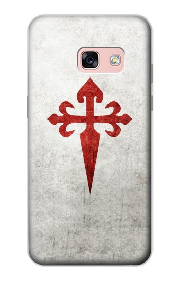 Printed Order of Santiago Cross of Saint James Samsung Galaxy A3 (2017) Case