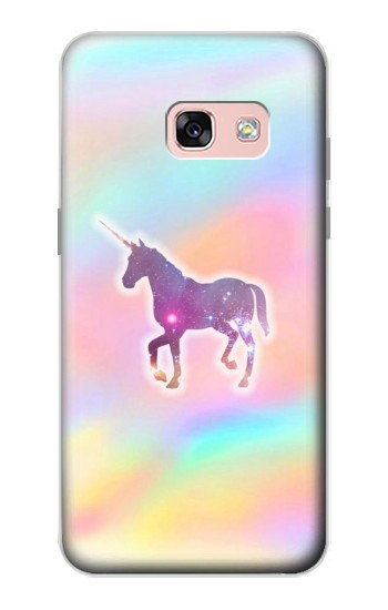 Printed Rainbow Unicorn Samsung Galaxy A3 (2017) Case