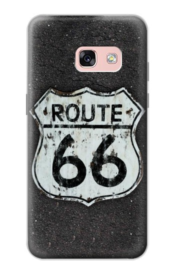 Printed Route 66 Sign Samsung Galaxy A3 (2017) Case