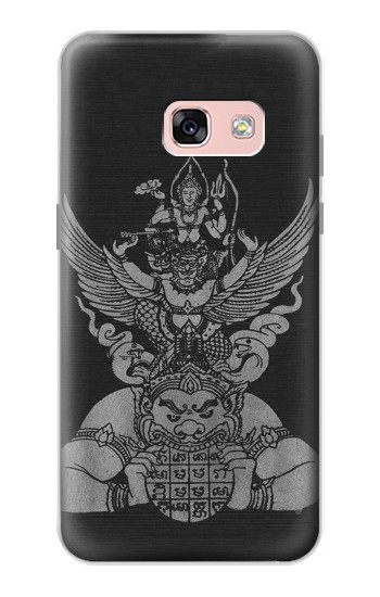 Printed Sak Yant Rama Tattoo Samsung Galaxy A3 (2017) Case
