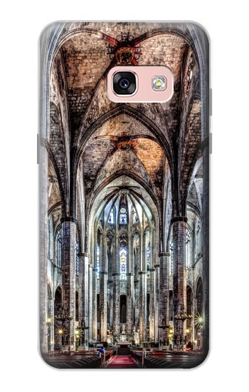 Printed Santa Maria Del Mar Cathedral Samsung Galaxy A3 (2017) Case