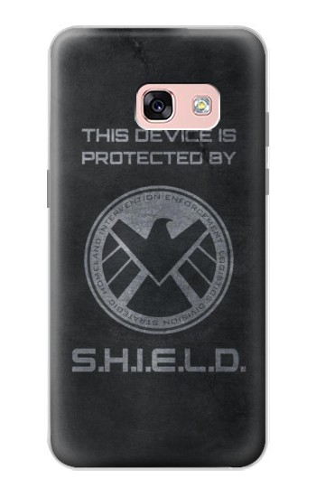 Printed This Device is Protected by Shield Samsung Galaxy A3 (2017) Case