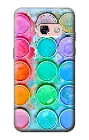 Printed Watercolor Mixing Samsung Galaxy A3 (2017) Case