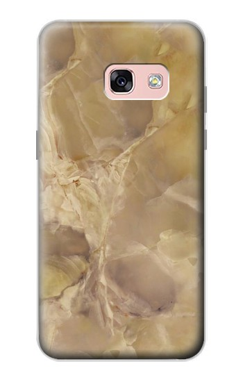 Printed Yellow Marble Stone Samsung Galaxy A3 (2017) Case