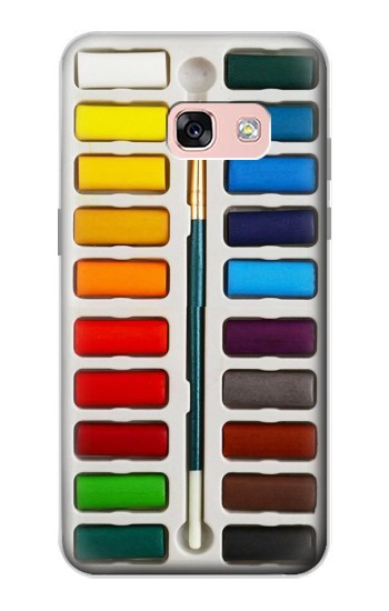 Printed Watercolor Paint Set Samsung Galaxy A3 (2017) Case
