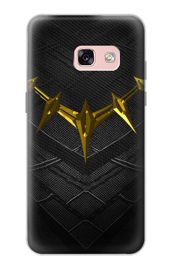 Printed Black Panther Inspired Costume Gold Necklace Samsung Galaxy A3 (2017) Case