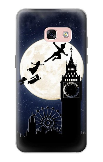 Printed Peter Pan Fly Fullmoon Night Samsung Galaxy A3 (2017) Case