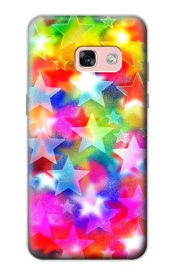 Printed Colourful Disco Star Samsung Galaxy A3 (2017) Case