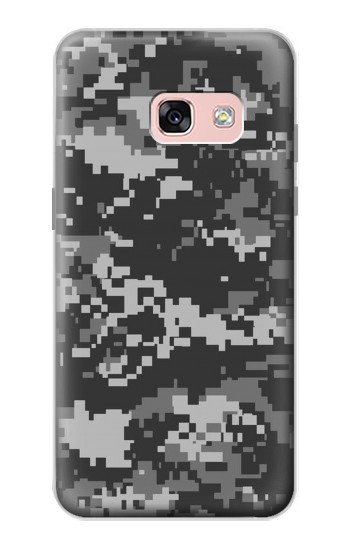 Printed Urban Black Camouflage Samsung Galaxy A3 (2017) Case