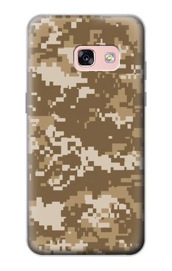 Printed Army Camo Tan Samsung Galaxy A3 (2017) Case