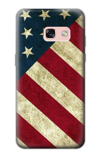 Printed US National Flag Samsung Galaxy A3 (2017) Case