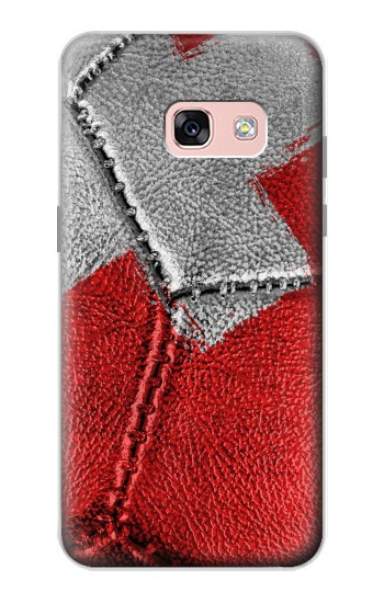 Printed Switzerland Flag Vintage Football 2018 Samsung Galaxy A3 (2017) Case