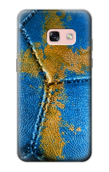 Printed Sweden Flag Vintage Football 2018 Samsung Galaxy A3 (2017) Case