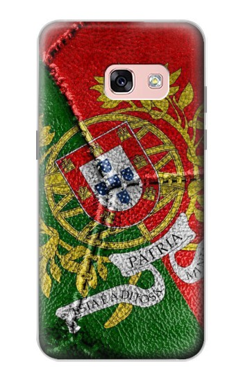 Printed Portugal Flag Vintage Football 2018 Samsung Galaxy A3 (2017) Case