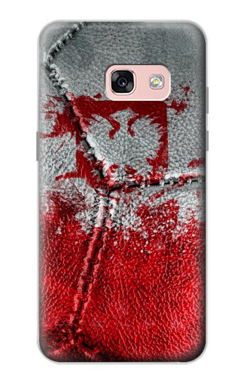 Printed Poland Flag Vintage Football 2018 Samsung Galaxy A3 (2017) Case