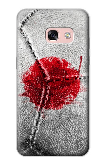 Printed Japan Flag Vintage Football 2018 Samsung Galaxy A3 (2017) Case