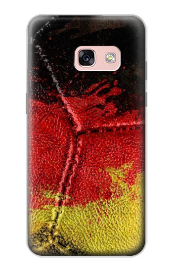 Printed Germany Flag Vintage Football 2018 Samsung Galaxy A3 (2017) Case