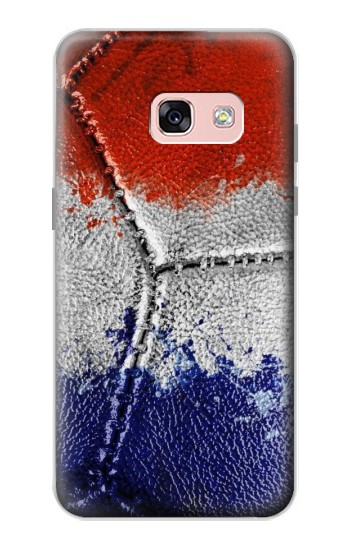 Printed France Flag Vintage Football 2018 Samsung Galaxy A3 (2017) Case