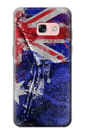 Printed Australia Flag Vintage Football 2018 Samsung Galaxy A3 (2017) Case