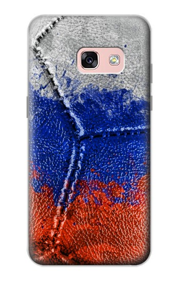 Printed Russia Flag Vintage Football 2018 Samsung Galaxy A3 (2017) Case