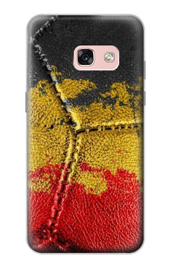Printed Belgium Flag Vintage Football 2018 Samsung Galaxy A3 (2017) Case