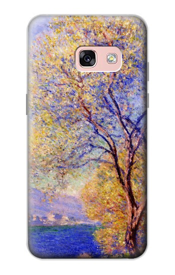 Printed Claude Monet Antibes Seen from the Salis Gardens Samsung Galaxy A3 (2017) Case