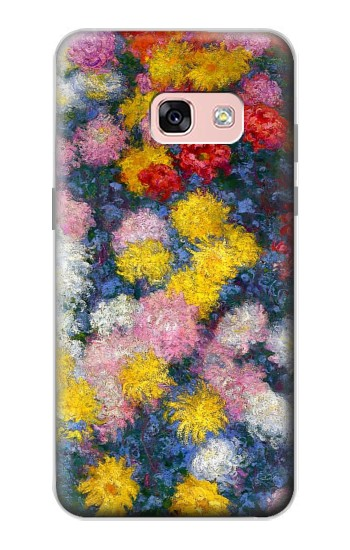 Printed Claude Monet Chrysanthemums Samsung Galaxy A3 (2017) Case