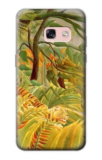 Printed Henri Rousseau Tiger in a Tropical Storm Samsung Galaxy A3 (2017) Case
