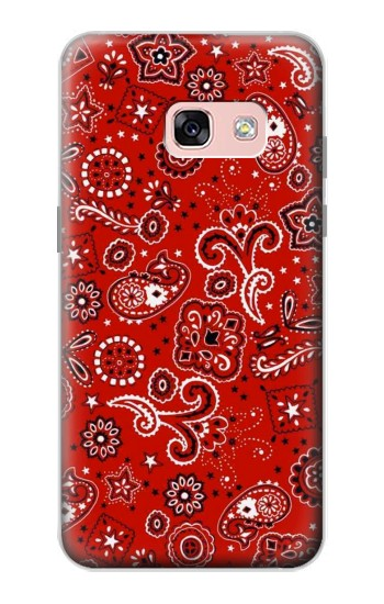 Printed Red Bandana Samsung Galaxy A3 (2017) Case
