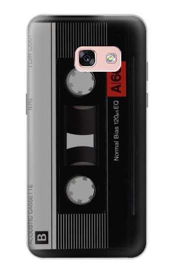 Printed Vintage Cassette Tape Samsung Galaxy A3 (2017) Case
