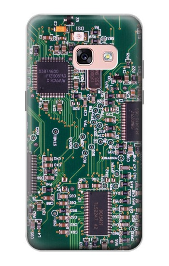 Printed Electronics Circuit Board Graphic Samsung Galaxy A3 (2017) Case