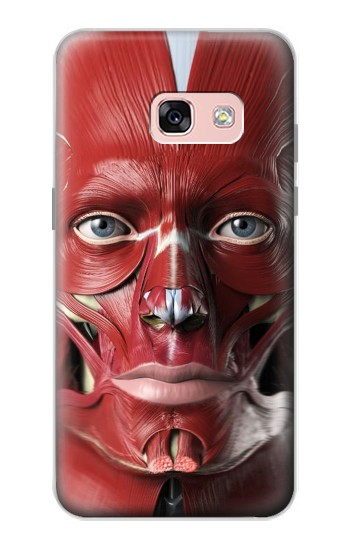 Printed Anatomy of The Face Samsung Galaxy A3 (2017) Case