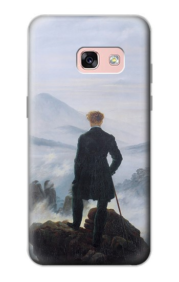 Printed Wanderer above the Sea of Fog Samsung Galaxy A3 (2017) Case