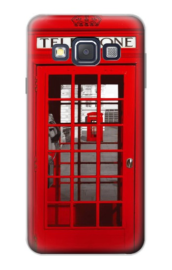 Printed Classic British Red Telephone Box Samsung Galaxy A3, A3 Duos Case