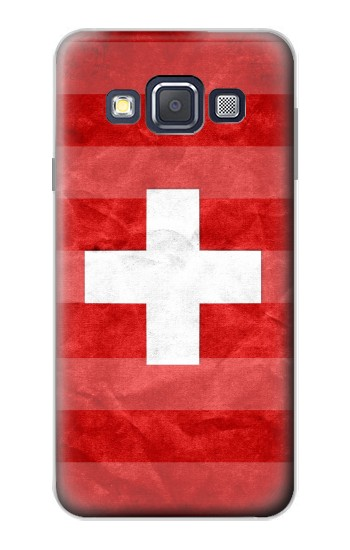 Printed Switzerland Football Flag Samsung Galaxy A3, A3 Duos Case