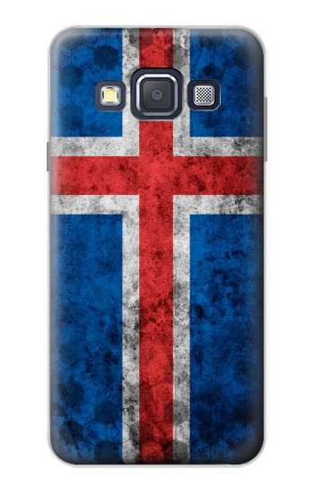 Printed Iceland Football Flag Samsung Galaxy A3, A3 Duos Case