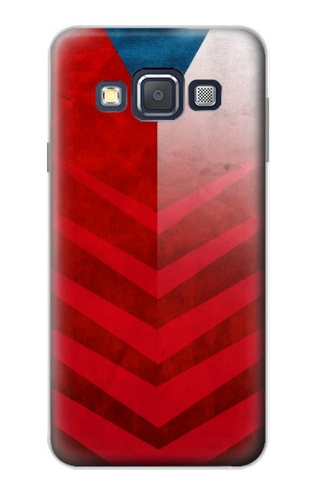Printed Czech Republic Football Flag Samsung Galaxy A3, A3 Duos Case