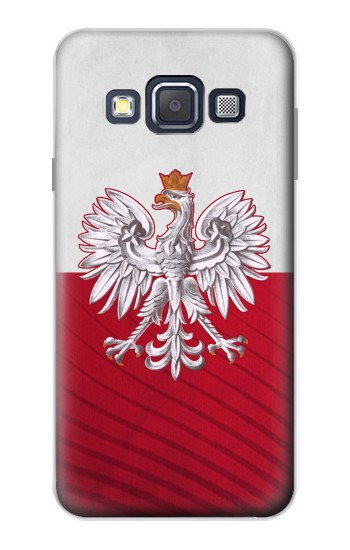 Printed Poland Football Flag Samsung Galaxy A3, A3 Duos Case