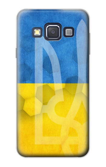 Printed Ukraine Football Flag Samsung Galaxy A3, A3 Duos Case