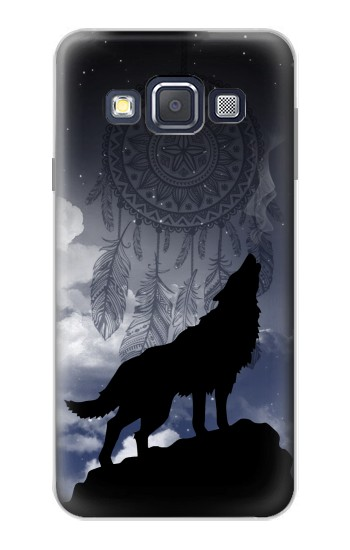 Printed Dream Catcher Wolf Howling Samsung Galaxy A3, A3 Duos Case