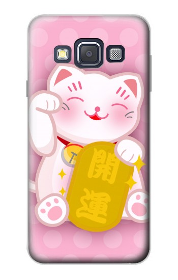 Printed Neko Lucky Cat Samsung Galaxy A3, A3 Duos Case