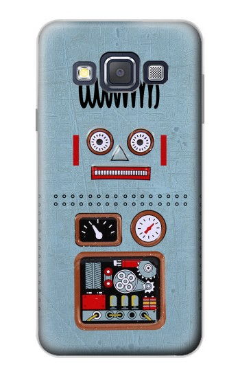 Printed Retro Robot Toy Samsung Galaxy A3, A3 Duos Case