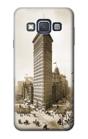 Printed Old New York Flatiron Building Samsung Galaxy A3, A3 Duos Case