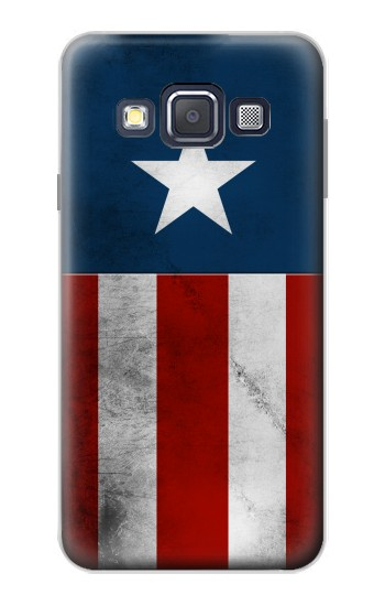 Printed Captain Star Flag of America Samsung Galaxy A3, A3 Duos Case