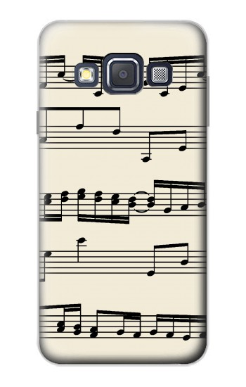 Printed Music Sheet Samsung Galaxy A3, A3 Duos Case