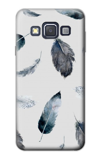 Printed Feather Paint Pattern Samsung Galaxy A3, A3 Duos Case