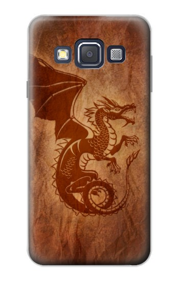 Printed Red Dragon Tattoo Samsung Galaxy A3, A3 Duos Case