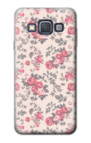 Printed Vintage Rose Pattern Samsung Galaxy A3, A3 Duos Case