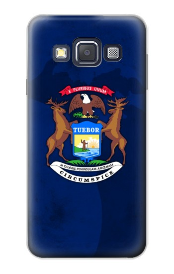 Printed State of Michigan Flag Samsung Galaxy A3, A3 Duos Case